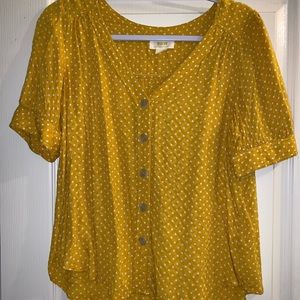 Anthropologie Top, Size M or 8.